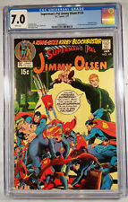Jimmy Olsen #135 - White Pages CGC 7.0 FN/VF