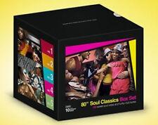 New: 80s SOUL CLASSICS 10-Disc CD BOX SET (Soul Vibes & Funky Club Tunes)