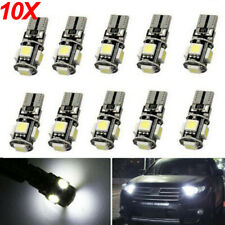 10X Auto 5 SMD LED T10 Lampe weiß CANBUS Standlicht Innenraum 12V DE DHL TÜV