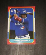 Vladimir Guerrero JR 1986 Parody ACEO Art  Rookie Card Toronto Blue Jays