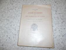1927.Anacharsis ou les exercices du corps.N°.sport.Lucien.Manceaux