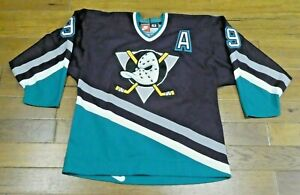 Late 1990's Paul Kariya Game Used Anaheim Ducks Hockey Jersey