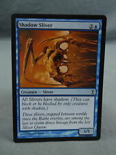 MTG Magic the Gathering Card X1: Shadow Sliver - Time Spiral EX/NM