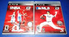 NBA 2K13 +MLB 2K13 - Double Pack PS3 Brand New (Torn Packaging) *Free Shipping!