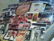 AN OLD  NHL DETRIOT RED WINGS TEAM COLLECTOR LOT