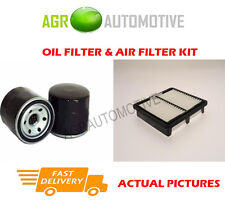PETROL SERVICE KIT OIL AIR FILTER FOR DAEWOO MATIZ 0.8 52 BHP 1998-00