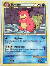 Slowbro - 52/123 - Rare Uncommon Pokemon Card HeartGold SoulSilver M/NM English