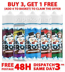 100Ml E LIQUID DR FROST E Liquid 100ML 0MG 70/30 VG/PG vape juice Polar Ice