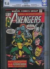 Avengers # 135 CGC 9.6  White Pages. UnRestored.