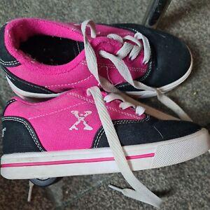 Sidewalk Sport Wheelie Roller Trainers Girls Size 13