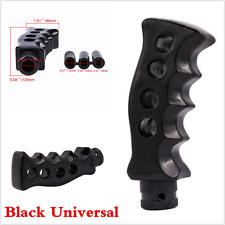 1X Gun Grip Knife Handle Manual Transmission Car Gear Shift Knob Shifter Black