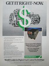 2/1980 lucas aerospace pub full authority digital electronics controls engine ad