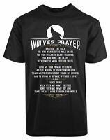 Wolves Prayers Fierce Spirit New Men's Shirt Authentic Personalized Casual Tees
