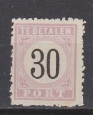 Port 6 type 3 MLH ong Suriname portzegel due stamp 1886