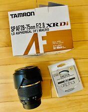 Tamron SP AF 28-75mm F/2.8 (Sharp!) XR Di LD Aspherical MACRO Nikon FX& DX lens