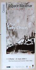 CHU TEH CHUN AFFICHE CANNES 2004 ESPACE MIRAMAR
