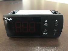 Danfoss Thermostat Temp Range -40 to +105C. Model ERC211 (Lot of 2 Thermostats)