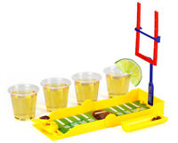 Barbuzzo Travel Drinking Game - Tackle Shots Football
