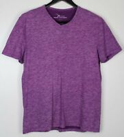 MARC ANTHONY Men's Shirt Slim Fit Purple Size L