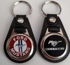 FORD MUSTANG KEYCHAIN MIX RED BLACK