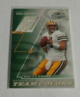 R20,346 - BRETT FAVRE - 2001 DONRUSS CLASSICS - TEAM COLORS JERSEY - PACKERS -