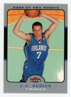 2006-07 Fleer J.J. REDICK Rookie Card RC #214 New Orleans Pelicans DUKE JJ