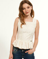 Womens Superdry Tops Various Styles & Colours AK - Horizon Ivory L