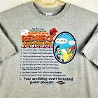 Jeff Foxworthy Original Redneck Wear REDNECK WORLD POKER TOUR T-Shirt -XXL -Gray