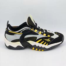 Reebok Ravine Mens Cushioned Running Shoes - Black - UK 8