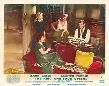 The King and Four Queens lobby card Clark Gable Eleanor Parker Barbara Nicholls