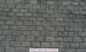 DOLLS HOUSE  SLATE ROOF PAPER   MINIATURE 12th SCALE NEW, JULIE ANNS