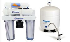 Oceanic Reverse Osmosis Drinking Water Filter System Permeate Pump 50 GPD + UV