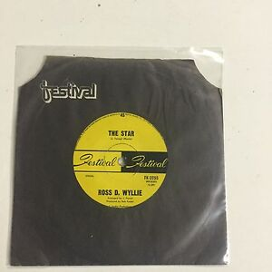 Ross D Wyllie The Star, Do The Uptight EXc Single