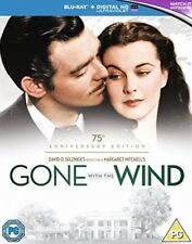 GONE WITH THE WIND  BRAND NEW SEALED 2 DISC 75TH ANNIVERSARY EDITION BLU RAY