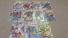 Uncanny X-Men 11 Comic Lot #281 284 285 286 287 288 294 295 296 300 Ann15 VF-/NM