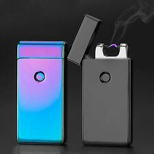 Colorful Dual Pulse ARC USB Rechargeable Windproof Arc Lighter Electronic