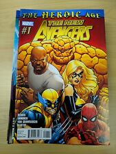 THE NEW AVENGERS #1-34 +ANNUAL by Marvel Comics (2010), 35 book set