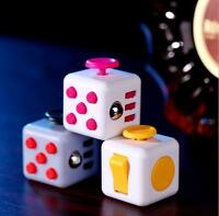 New Magic Fidget Cube Anxiety Stress Relief Focus 6-side Gift For Adults Child