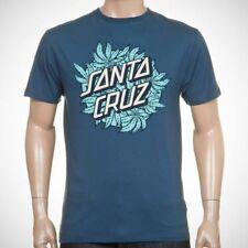 Santa Cruz Tee Skateboard T Shirt Weed Dot Indigo Xl Adult