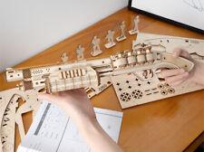 Robotime DIY Shotgun Wooden Gun Toy 3D Puzzle Model Building Gift for Kids Boys