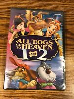 All Dogs Go to Heaven 1 & 2 Double Feature DVD 2-Disk Set BRAND NEW KIDS MOVIE