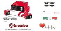 09780614-P24055 Dischi + Pastiglie freno anterior Brembo Fiesta V 1.4 TDCi 50 Kw