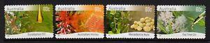 2011 Farming Australia Native Plants Set of 4 Very Fine Used
