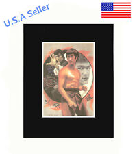 Bruce Lee 8x10 matted Art Print Poster Decor picture Gift Photograph Display Art