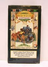 DAVID WINTER COTTAGES,  ENGLISH SCULPTOR,  RARE VHS,  BRAND NEW,  NOT ON DVD