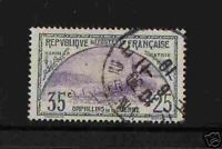 "FRANCE 1917-18 Y&T 152 ""ORPHELINS 35c+25"" OBLITERE TB"