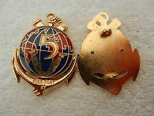 insigne militaire régimentaire français 5ème régiment troupes de marine
