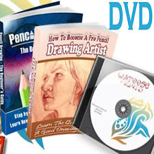 How to Draw & Paint 70+ pdf learn drawing painting e Books on DVD
