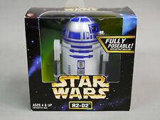 """Vintage Star Wars R2-D2 Droid W/ Retractable Leg 8"""" FIGURE  #rk1"""