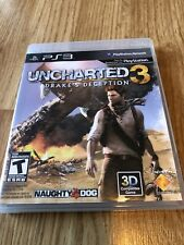 Uncharted 3: Drake's Deception (Sony PlayStation 3, 2011) Ps3 VC7